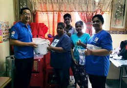 "For his frequent handouts as part of Gerakan's ""I love Batu"" constituency campaign. These include bags of rice, free spectacles and goodie bags."