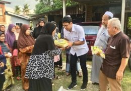 For repeated treating of voters in Seberang Jaya, including giving out rice, hampers, tables and chairs and other essentials while campaigning.